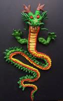 shenron dragon dbz by LuckyCloversArt