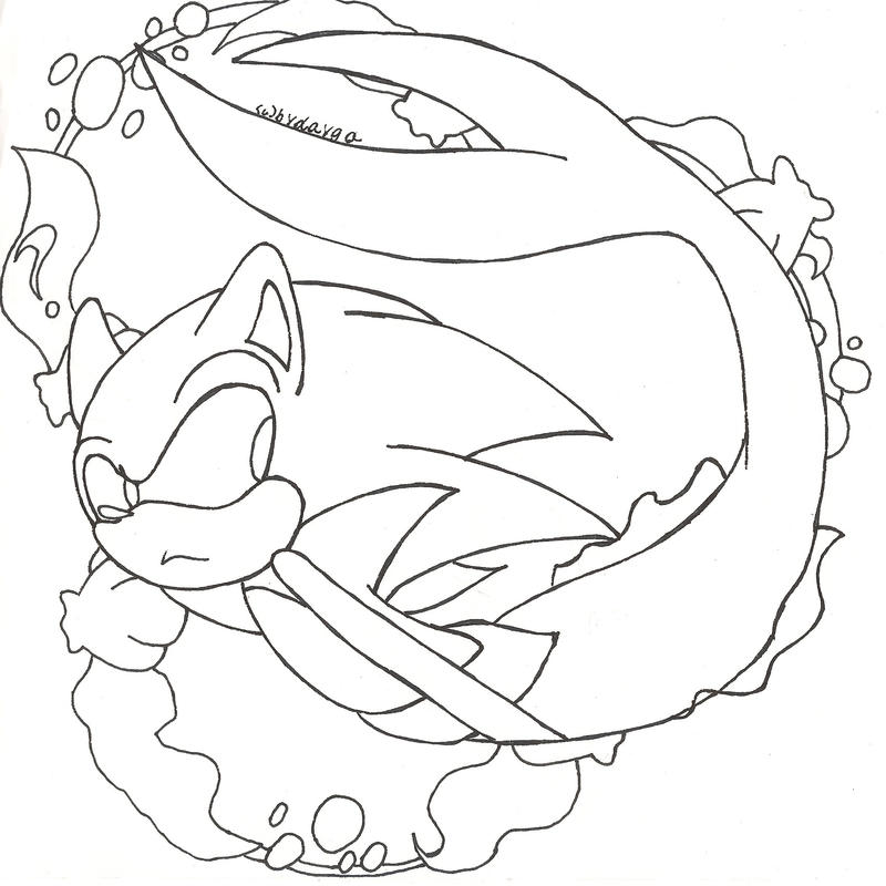 sonic mephiles coloring pages - photo#25