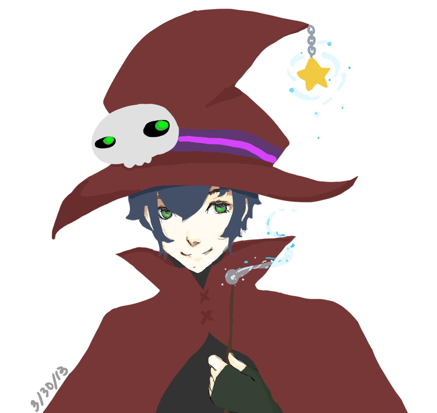 Wizard Boy by pikaonix
