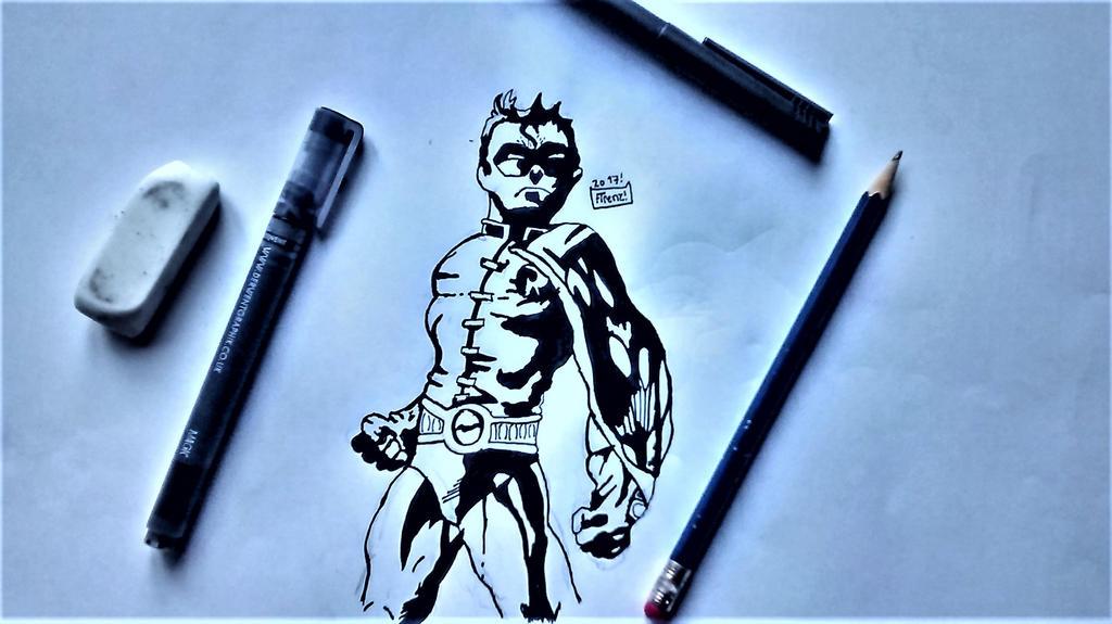 Robin (Tim Drake). by Firenz123