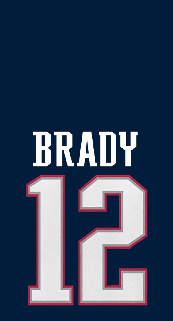 Tom Brady Jersey Wallpaper by llu258 on DeviantArt