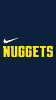 Denver Nuggets Wordmark Logo Wallpaper