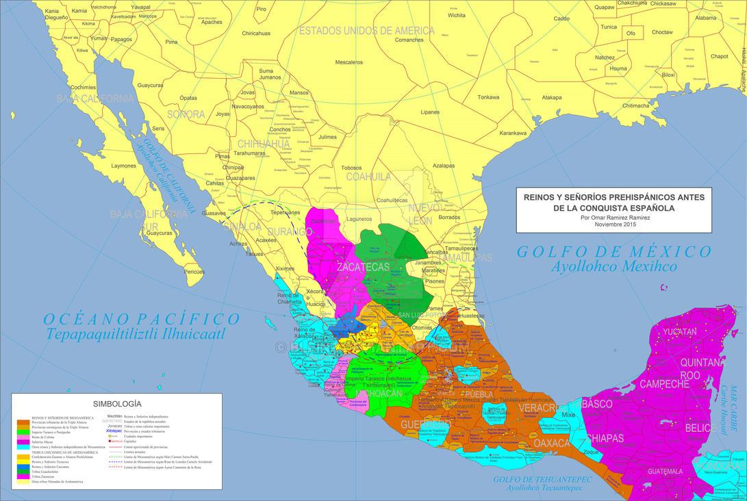 Ocupacion territorial antes de 1521 by Bleinz