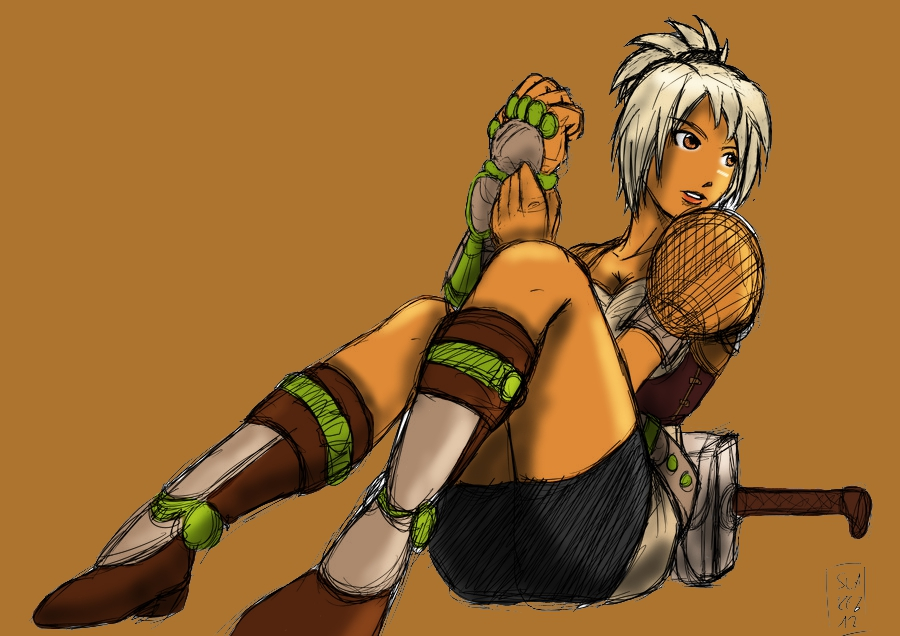 Riven, The Exile by XhavokX