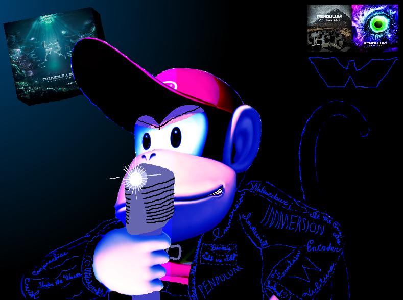 Diddy Kong + Pendulum: Personal favorite combo! by DiddyKF1