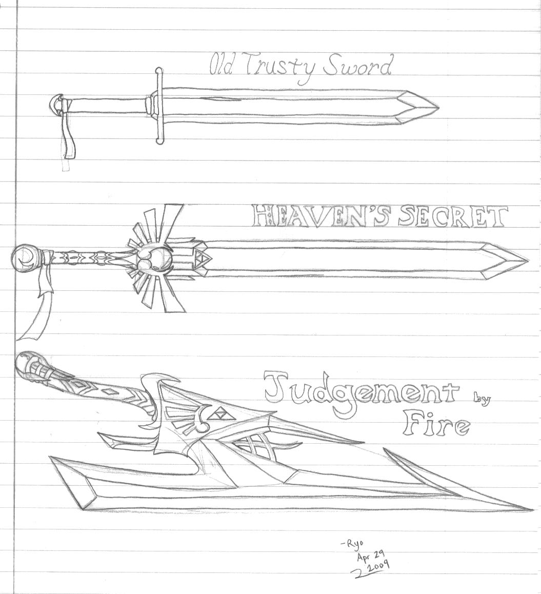 CotT Swords by Ryuu-Atrineas