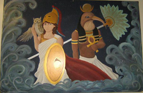Gods of Wisdom by Dragonic-Saga
