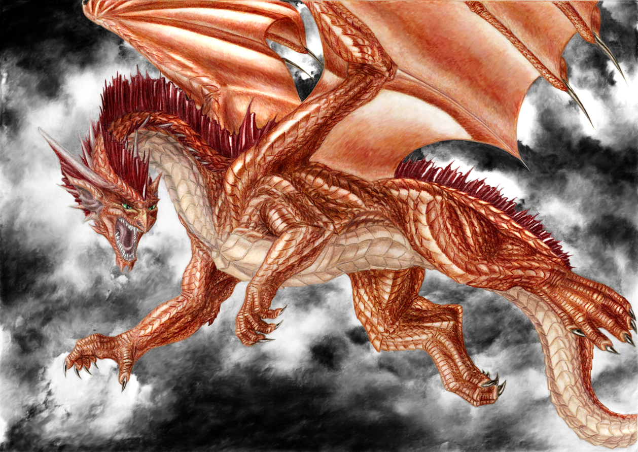 Vladi's Dragon - Completed by lapis-lazuri