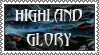 Highland Glory 2 stamp by lapis-lazuri