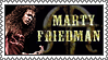 Marty Friedman stamp by lapis-lazuri