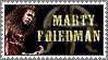 Marty Friedman stamp by lapis-lazuri