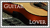 Guitar Lover stamp by lapis-lazuri