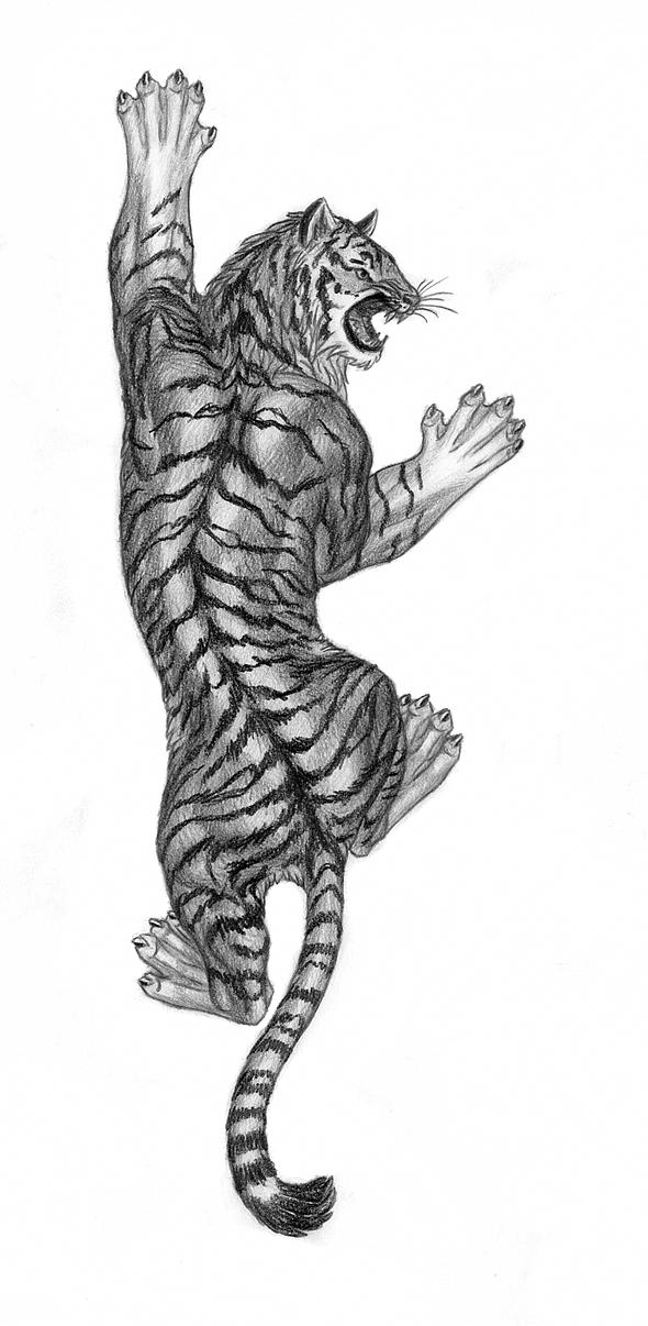Climbing Tiger Tattoos | www.imgkid.com - The Image Kid ...
