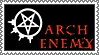 Arch Enemy stamp by lapis-lazuri