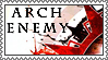 Arch Enemy stamp 3 by lapis-lazuri
