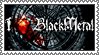 Black Metal stamp by lapis-lazuri
