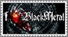 Black Metal stamp by lapis-lazuri