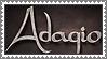 Adagio stamp by lapis-lazuri