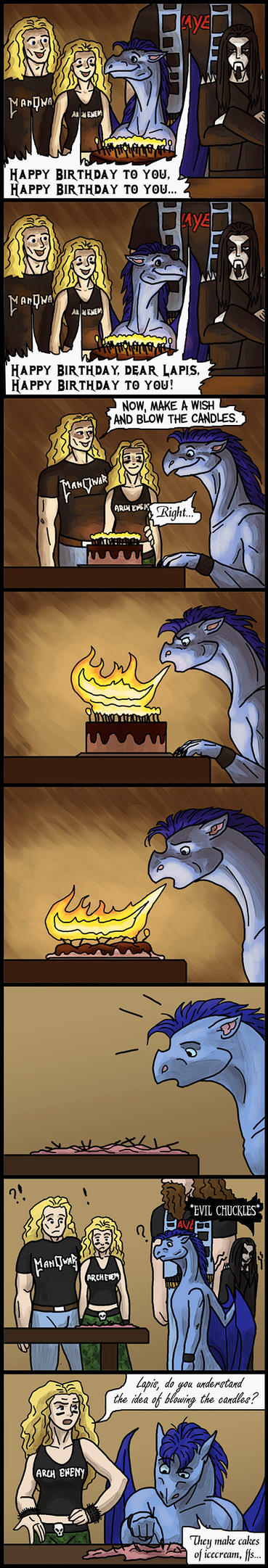 7 - The Magician's Birthday by lapis-lazuri