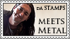 dA Stamps Meets Metal by lapis-lazuri