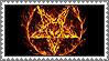 Satanic Pentagram of Fire stamp by lapis-lazuri