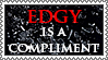 Edgy stamp by lapis-lazuri
