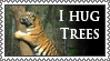 Hug Trees stamp (non-human) by lapis-lazuri