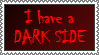 Dark Side stamp by lapis-lazuri