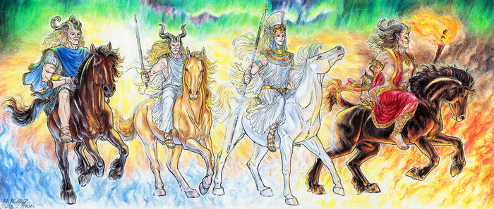 The Four Riders of The Apocalypse