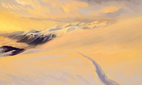 Landscape 08 - Mountain Morning
