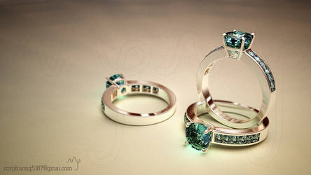 a new model of mine: A RING by myphuong5187