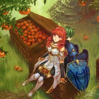 Oranges of Valentia by fadingz