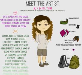 Meet the artist - 2017