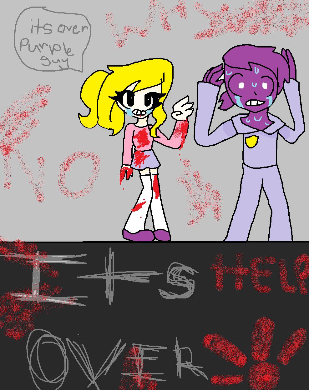 Its over purple guy fnaf 3 minigame by imsofancyasever on deviantart