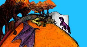 Showdown On Autumn Hill by Niddeh