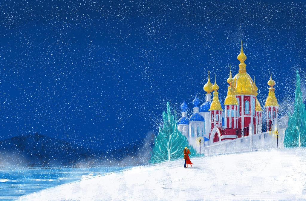 Tambovskite snegovi  Book cover by DarkoRistevski