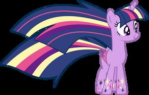 Twilight Sparkle Rainbow Power! by rpTwilightSparkle