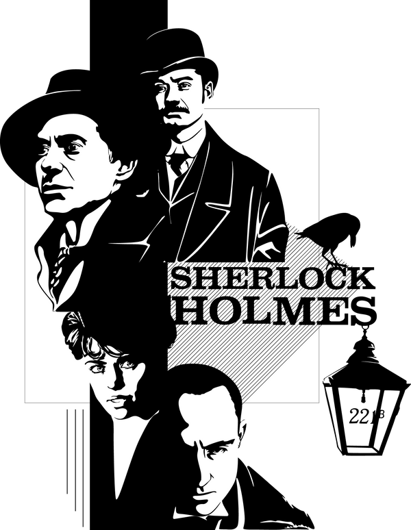 Sherlock Holmes 2009 by Mad42Sam on DeviantArt Benedict Cumberbatch Tv