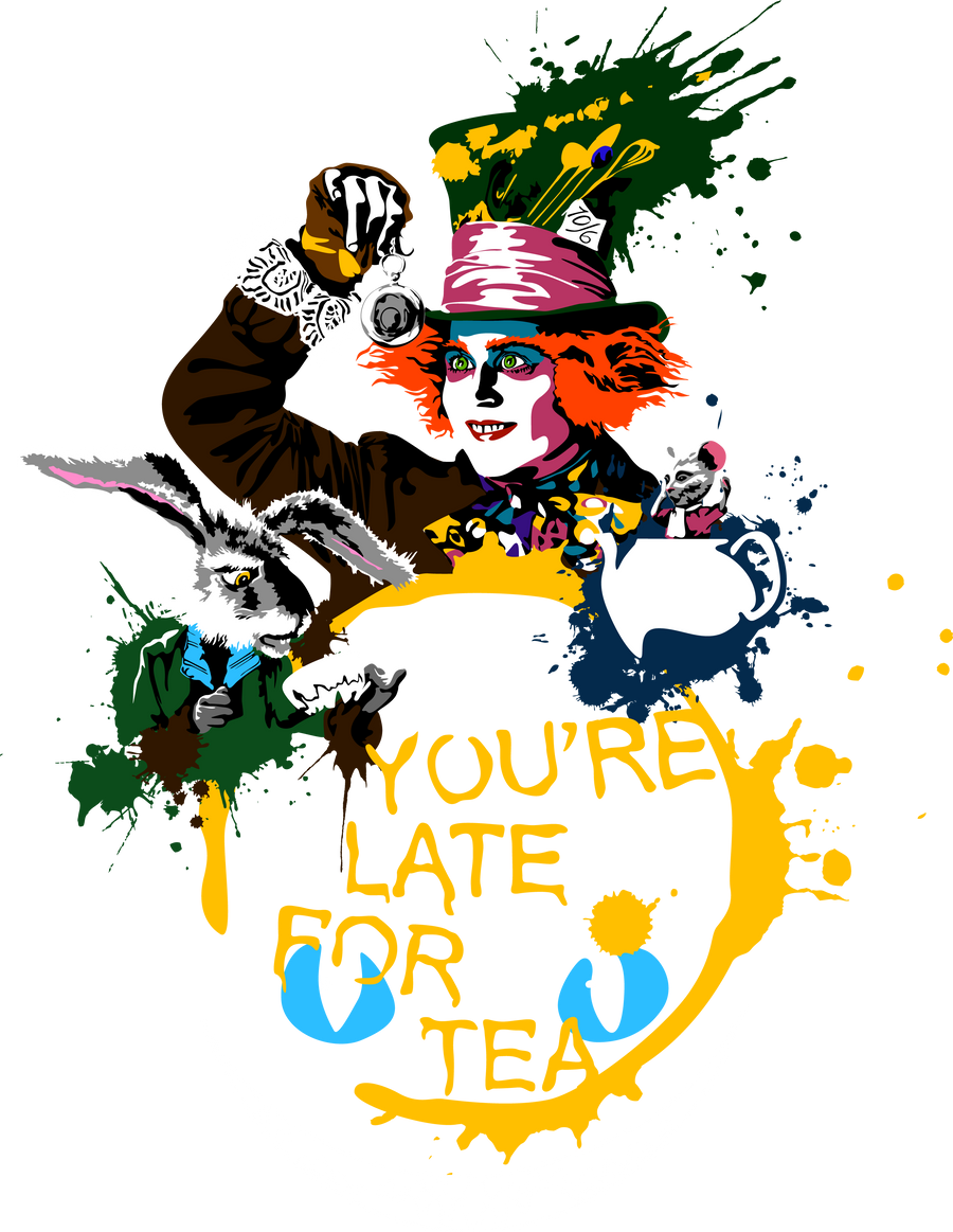 You're late for tea by Mad42Sam