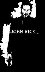 Inktober #26  JOHN WICK