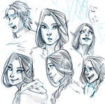 Expressions Sketch - Luilin!