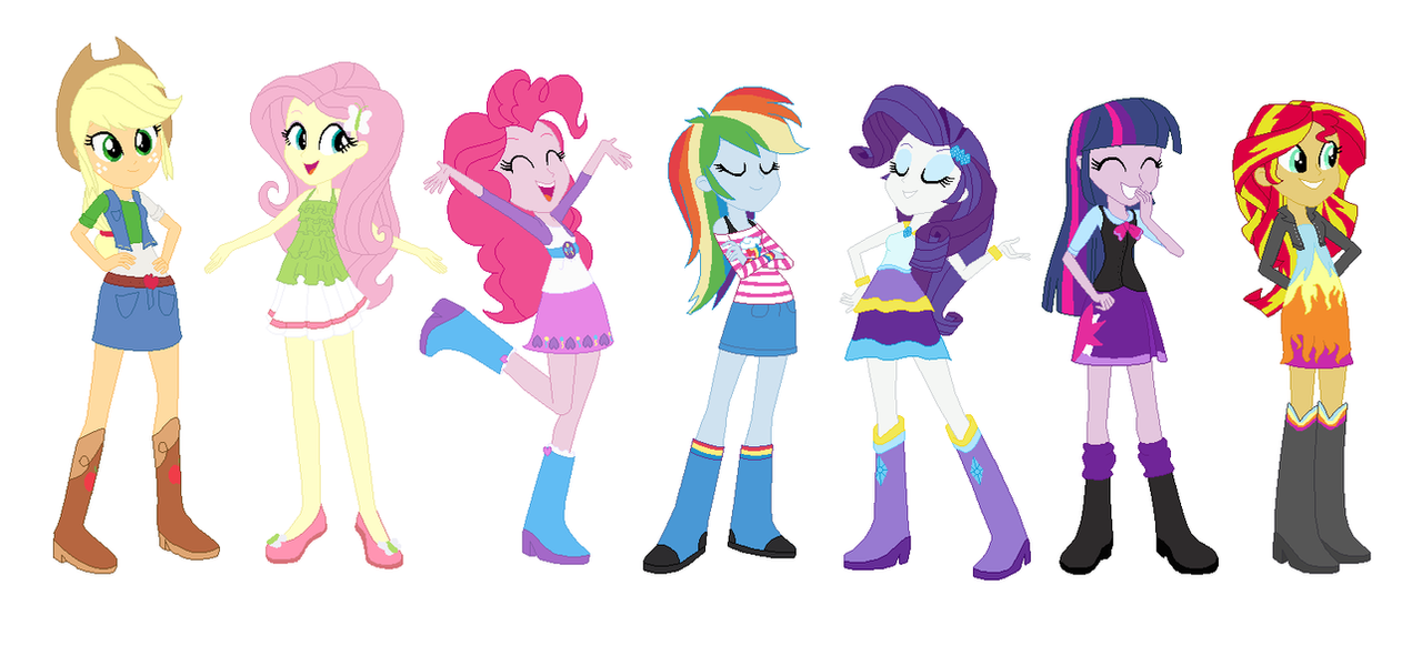 New Dresses For The Mane 7 By Starwindnight On Deviantart
