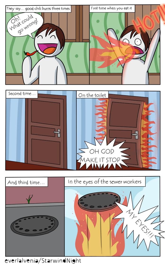 Chili comic by StarwindNight