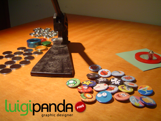 pin maker machine and pins by luigipanda on deviantart. Black Bedroom Furniture Sets. Home Design Ideas