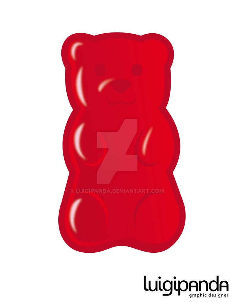 gummy bear by luigipanda on deviantart