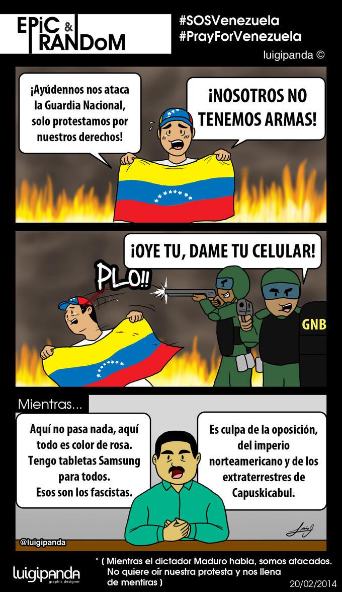 SOSVenezuela Epic Random by luigipanda