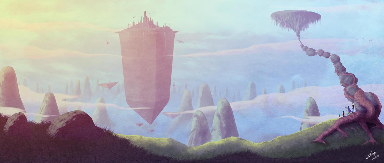 The Mountain Kingdom by luigipanda