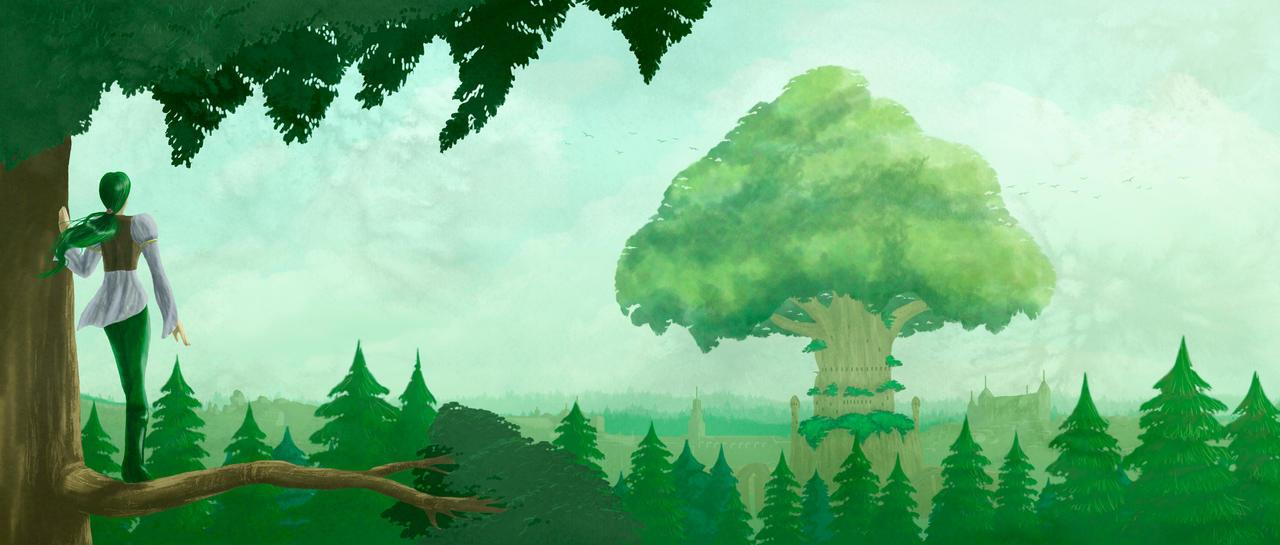 The Forest Kingdom by luigipanda