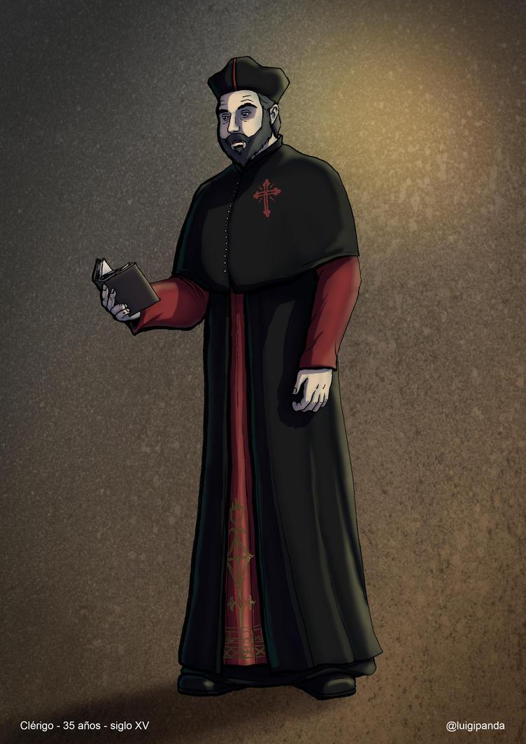 Clerigo Corrupto by luigipanda