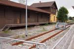 The old platform